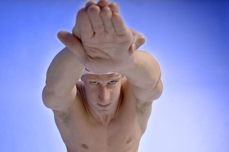 Le nageur Philippe Dubreuil... (Photo: La Tribune)