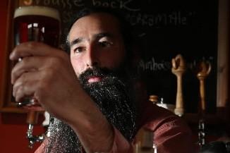 Bruno Blais, de la microbrasserie la Barberie, à... (Photo: Martin Chamberland, La Presse)