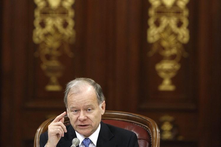 Le ministre des Finances et du Développement économique,... (Photo: AP)