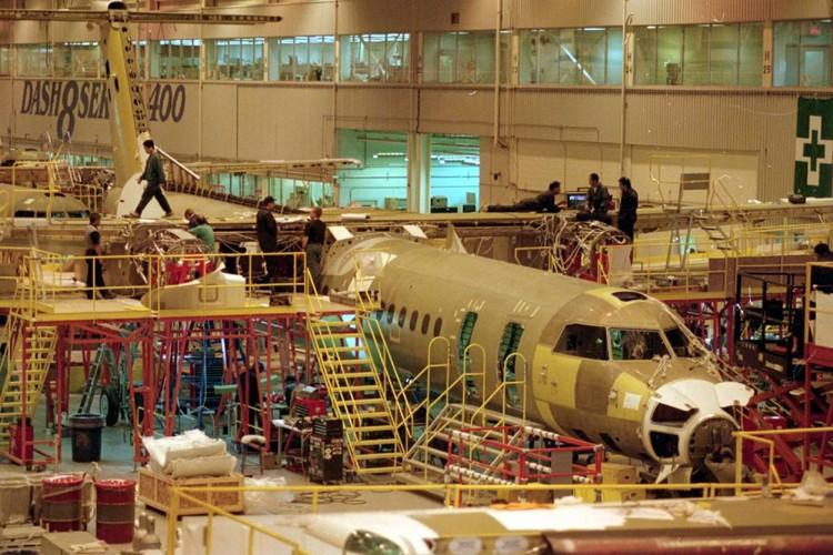 L'usine de Bombardier de Toronto... (Photo: PC)