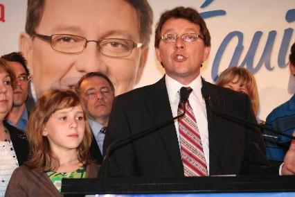 L'ex-maire de Rivière-du-Loup a remporté la mise pour... (Photo: Marc Larouche, collaboration spéciale, Le Soleil)