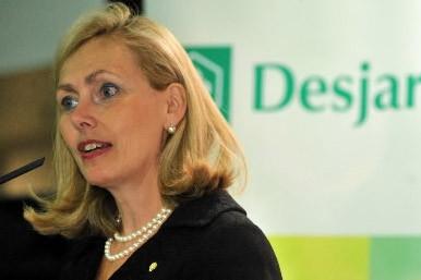 Monique Leroux, présidente du Mouvement Desjardins.... (Photo: Le Nouveliste)