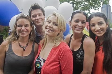 Annie Brocoli, Stéphane Archambault (Mes Aïeux), Mitsou Gélinas,... (Photo: Ivanoh Demers, La Presse)