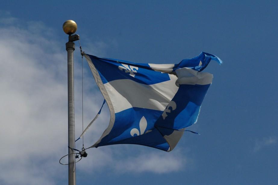 Les Québécois ont beau aimer leur drapeau, ils... (Photo: Ève Guillemette)