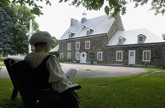 La Maison Saint-Gabriel a été construite en 1698.... (Photo: Rémi Lemée, Archives La Presse)