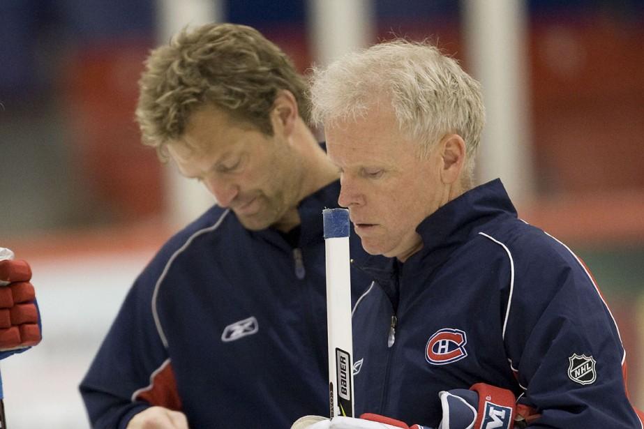Kirk Muller et Doug Jarvis... (Photo: André Pichette, La Presse)