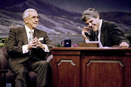 Ed  McMahon, à gauche, et Jay Leno.... (Photo: AP)