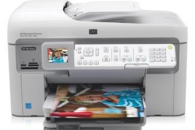 L'imprimante HP Photosmart Premium with TouchSmart Web...