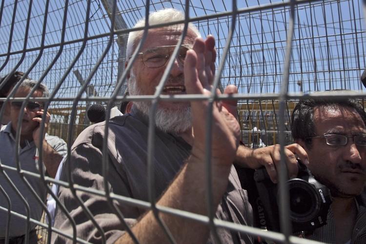 Le président du Parlement palestinien, Abdel Aziz Doweik,... (Photo: AP)
