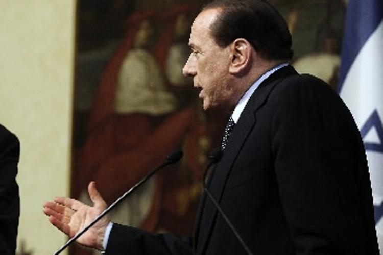 Sylvio Berlusconi... (Photo: AFP)