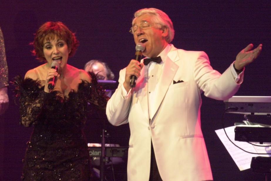 Les chanteurs Christine Chartrand et  Raymond ... (Photo: Pierre McCann, archives La Presse)
