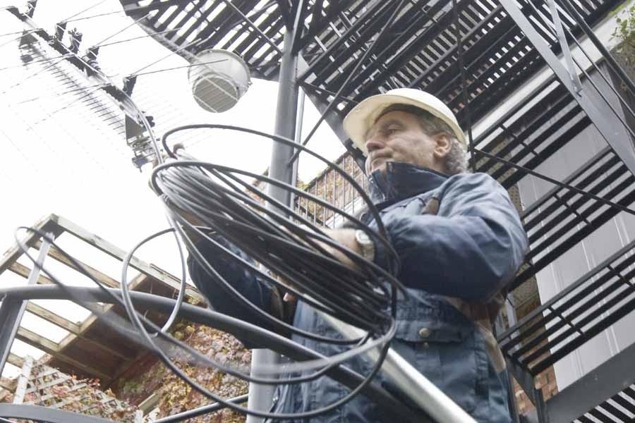La vieille antenne télé connaît un regain de... (Photo: Rémi Lemée, La Presse)