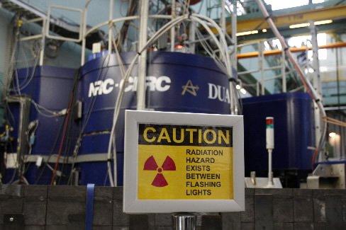 Un réacteur nucléaire de la compagnie Atomic Energy...