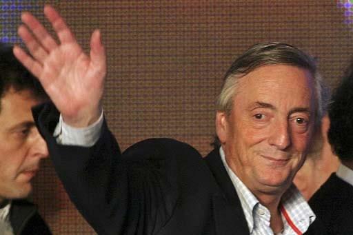 La désignation de Nestor Kirchner a fait l'objet... (Photo Reuters)