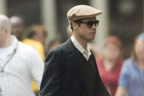 Brad Pitt, en mai2007, au cours du tournage... (Photo archives, La Presse)