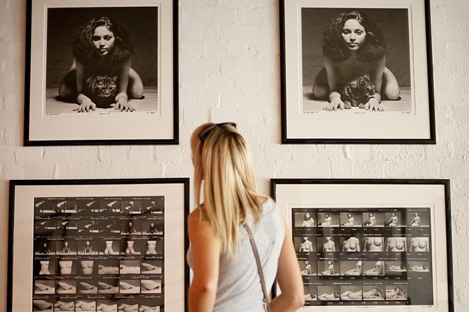 Des photos de Madonna nue prises il y a 30 ans par le photographe... (Photo: AFP)