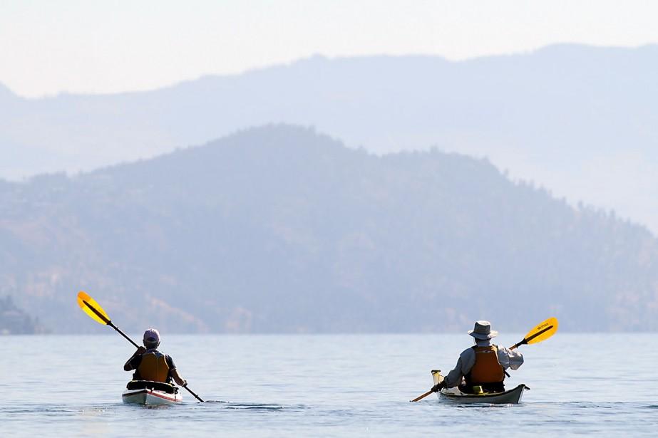 Balade au lac Okanagan, à la recherche d'Ogopogo.... (Photo: PC)