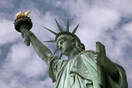 La statue de la Liberté, à New York.... (Photo AP)