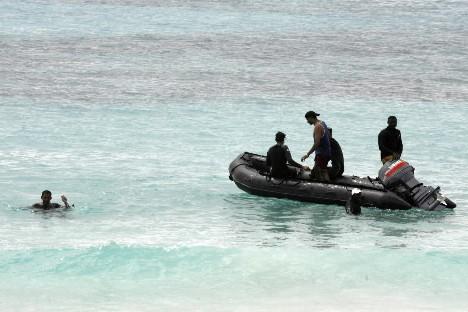 Les enquêteurs ont détecté le signal des balises des «boîtes... (Photo: Reuters)