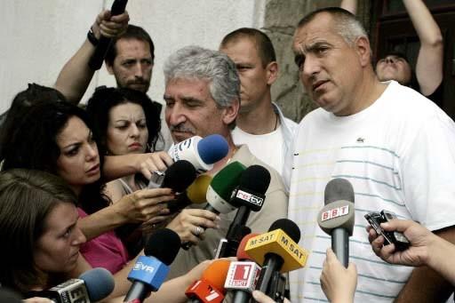 Le parti de centre-droit du maire de Sofia,... (Photo AP)