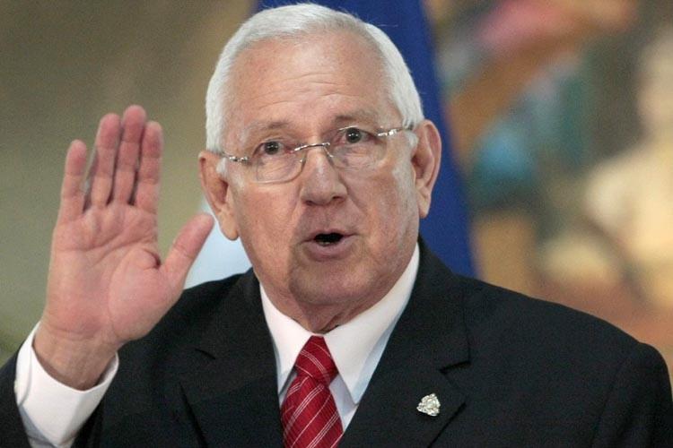 Le président du Honduras par intérim, Roberto ... (Photo: Reuters)