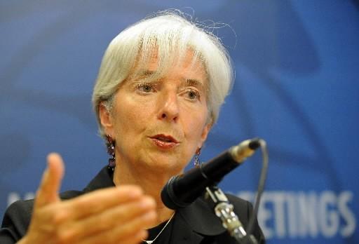 La ministre des Finances de France, Christine Lagarde.... (Photo : AFP)