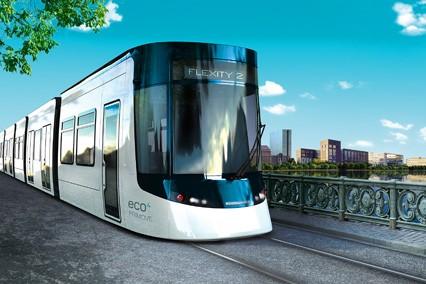 Le Flexity 2 de Bombardier Transport...