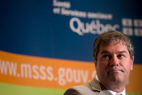 Le ministre de la Santé, Yves Bolduc.... (Archives, La Presse)
