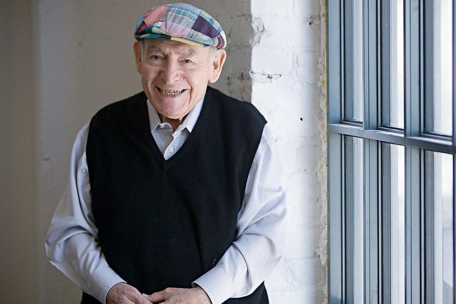 George Wein, qui a fondé le Newport Jazz... (Photo: Ivanoh Demers, La Presse)
