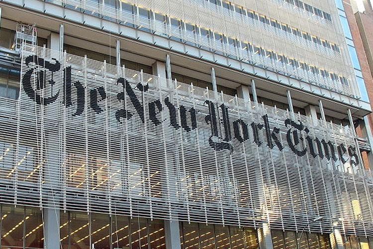Le New York Times, qui fait face à d'importantes... (Photo: www.pentagram.com)