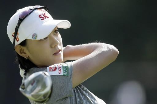 La Sud-Coréenne Na Yeon Choi.... (Photo AP)