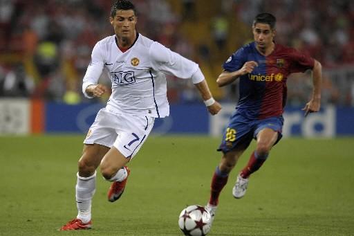 Cristiano Ronaldo, désormais avec le Real Madrid, affrontera... (Photo AFP)