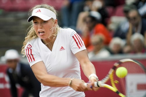 La Danoise Caroline Wozniacki.... (Photo AFP)