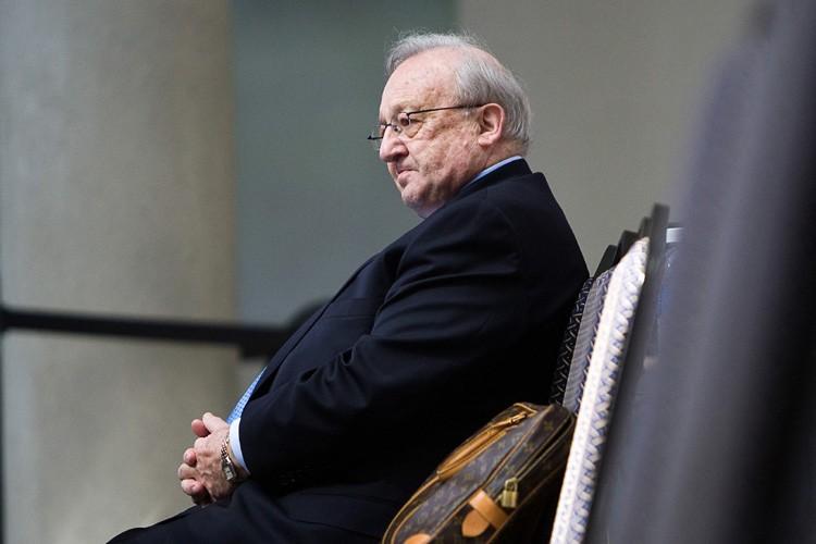 Karlheinz Schreiber lors de la commision Oliphant.... (Photo: PC)
