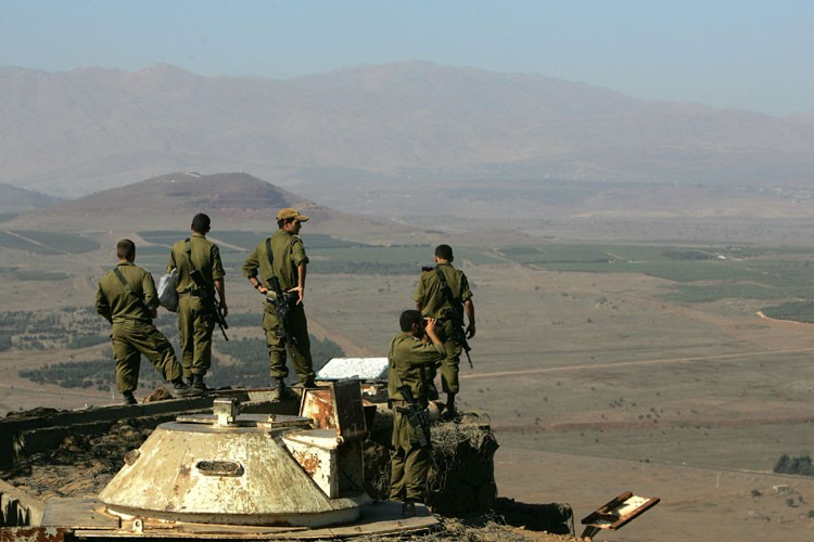 Israël a pris les hauteurs du Golan à... (Photo: AFP)