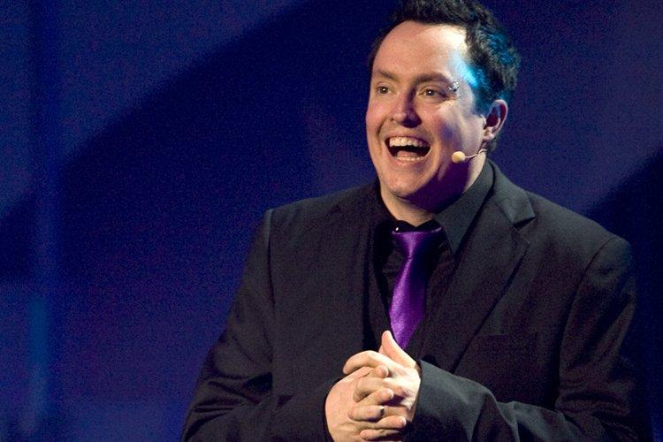 L'humoriste Mike Ward.... (Photo: David Boily, La Presse)