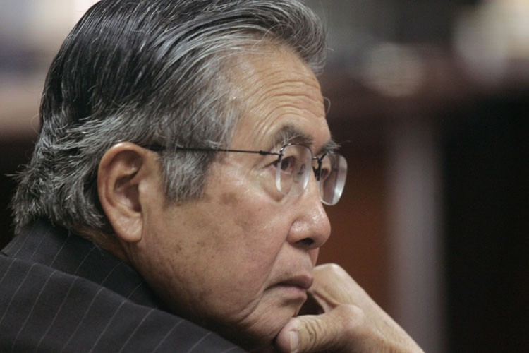 L'ancien président du Pérou, Alberto Fujimori.... (Photo: Reuters)