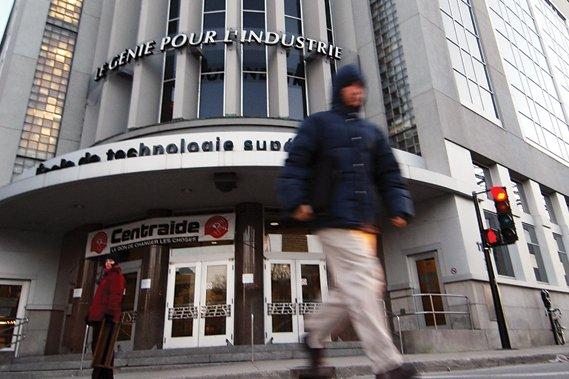 L'École de technologie supérieure à Montréal... (Photothèque Le Soleil)
