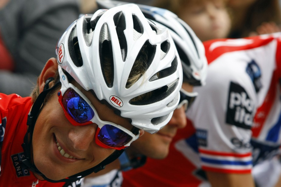 Andy Schleck... (Photo: Reuters)