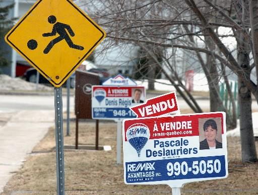 L'accessibilité à la propriété au Canada a continué... (Photo archives Le Soleil)
