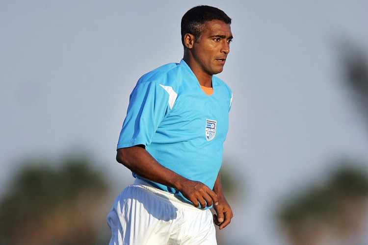 Romario... (Photo: AFP)