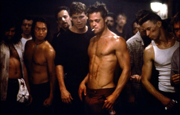 Brad Pitt dans Fight Club (1999).... (Fox)