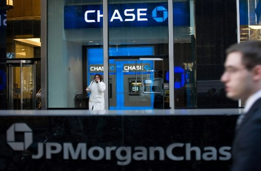 La banque américaine JPMorgan Chase a annoncé... (Photo Associated Press)