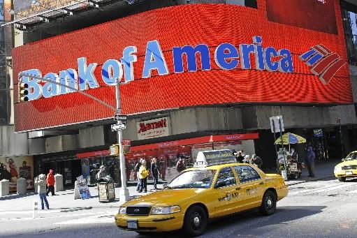 pour la période mars-juin, Bank of America a... (Photo: AFP)