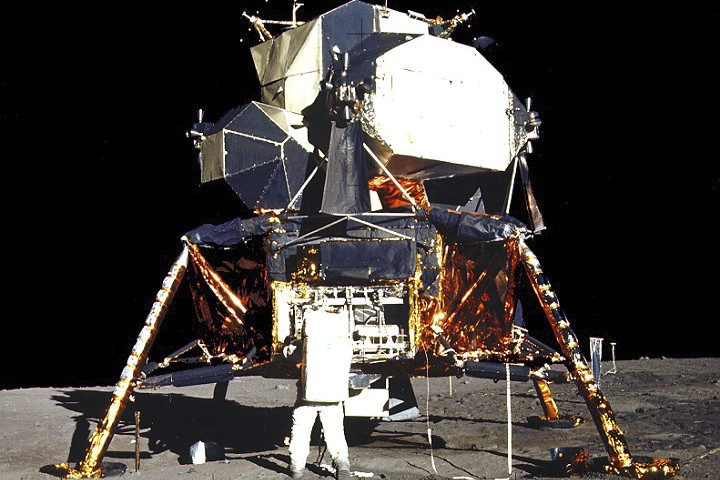 Le programme Apollo a coûté 25,4 milliardsUS au Trésor... (Photo: NASA)