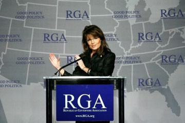 Sarah Palin... (Photo: Rue89)