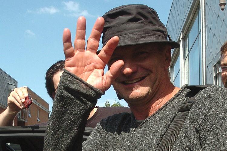 Le chanteur Sting.... (Photo: Le Soleil)