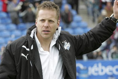 L'entraîneur de l'impact Marc Dos Santos... (Photo: Archives La Presse)