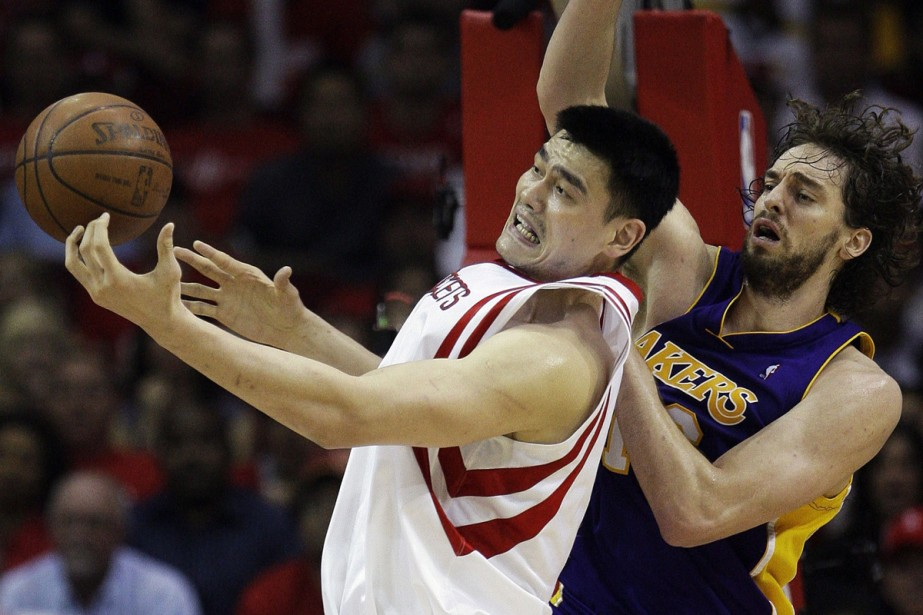 Yao Ming... (Photo: AP)