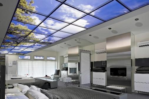 Les fenêtres virtuelles de Sky Factory peuvent être... (Photo: fournie par Saav Group)